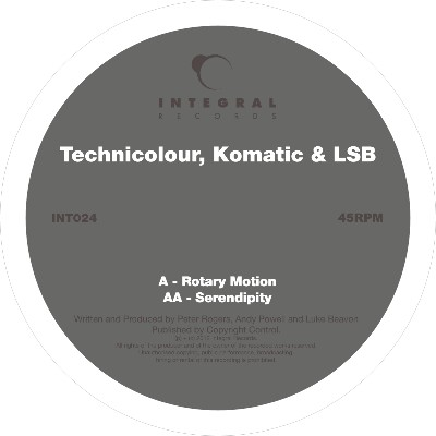 Technicolour/ROTARY MOTION 12""