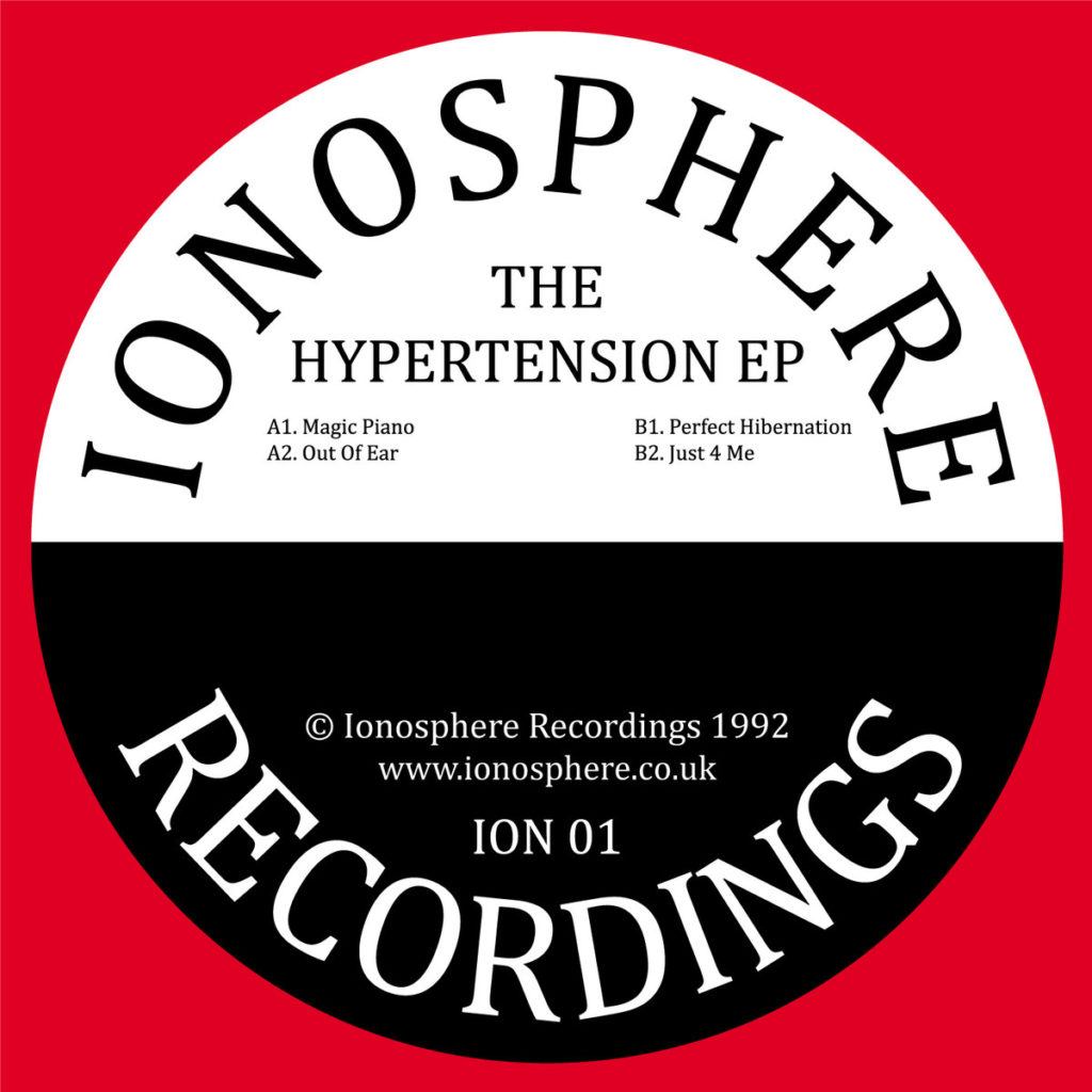 "Ionosphere/THE HYPERTENSION EP 12"""