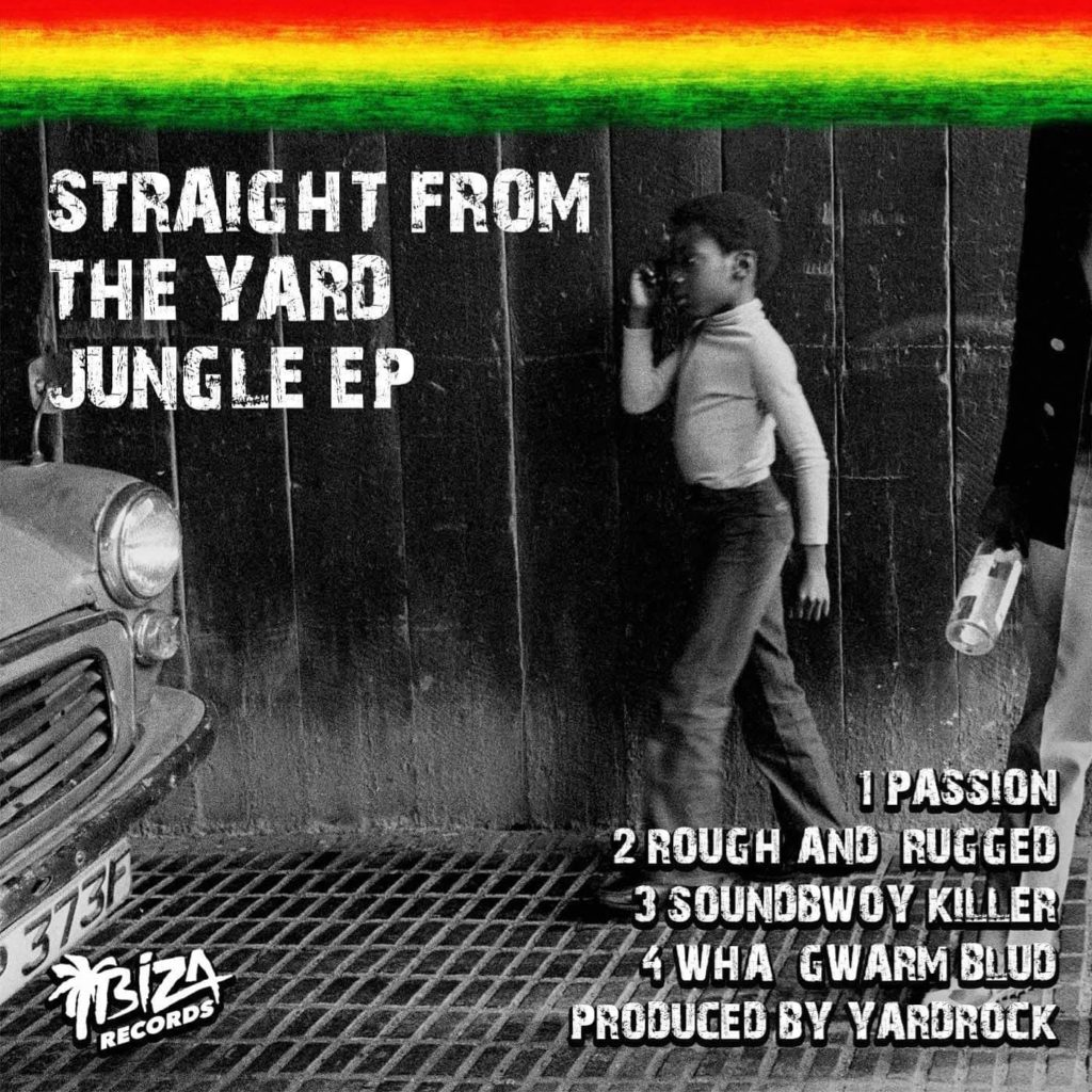 Yardrock/STRAIGHT FROM THE YARD EP 12""