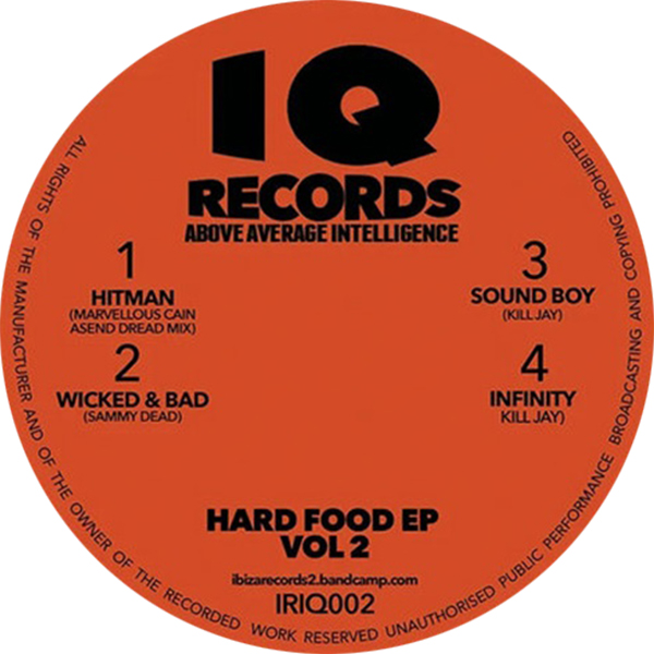 "Various/HARD FOOD EP VOL 2 12"""