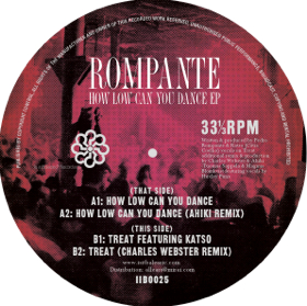 Rompante/HOW LOW CAN YOU DANCE EP 12""