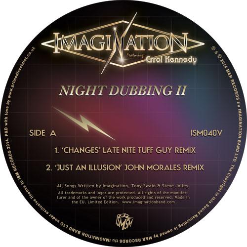 "Imagination/NIGHT DUBBING II REMIXES 12"""