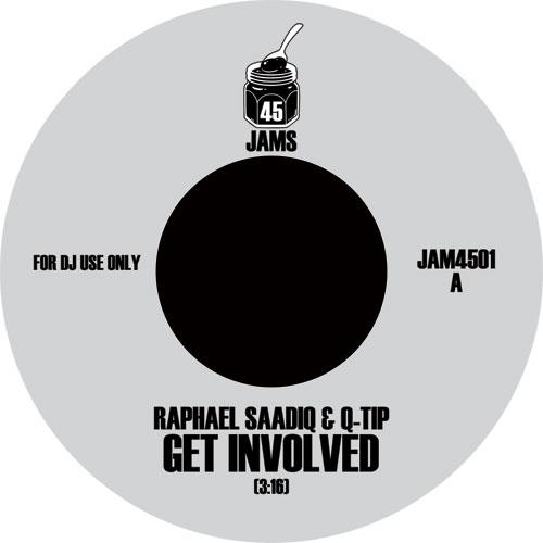 "Raphael Saadiq & Q-Tip/GET INVOLVED 7"""
