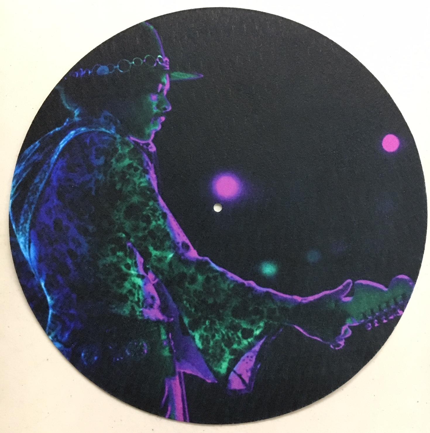 Jimi Hendrix/PSYCHEDELIC JIMI SLIPMAT