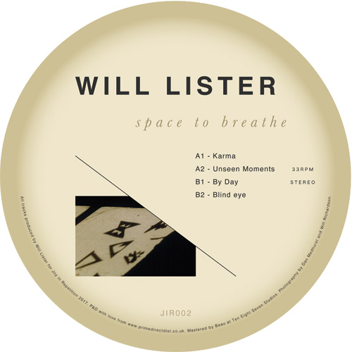 Will Lister/SPACE TO BREATHE EP 12""