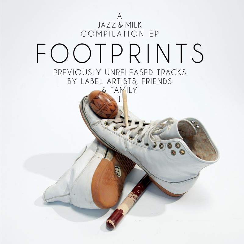 "Various/JAZZ & MILK FOOTPRINTS EP 12"""