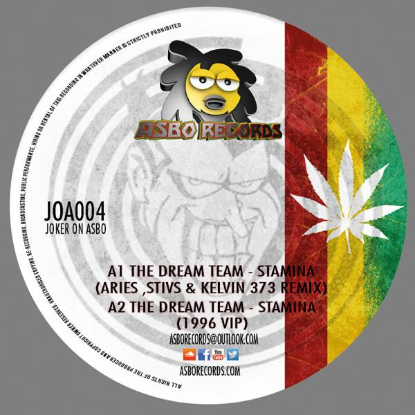 Dream Team/STAMINA (2015 REMIXES) 12""
