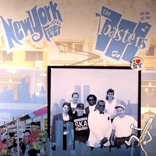 Toasters/NEW YORK FEVER (COLOR) LP
