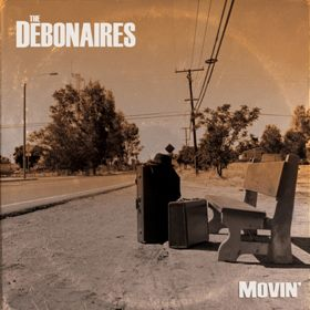 Debonaires/MOVIN (RED) LP