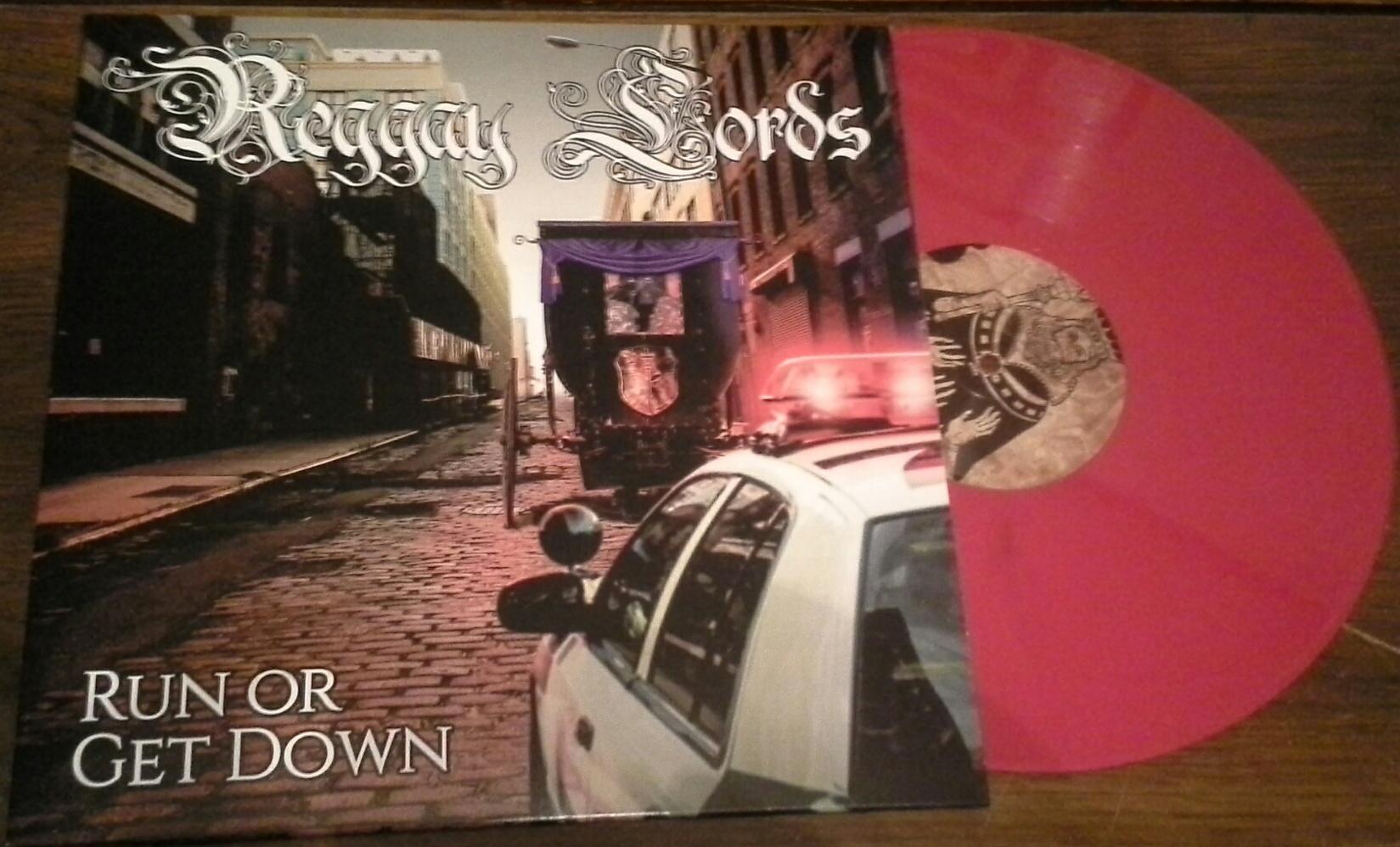 Reggay Lords/RUN OR GET DOWN (PURPLE) LP