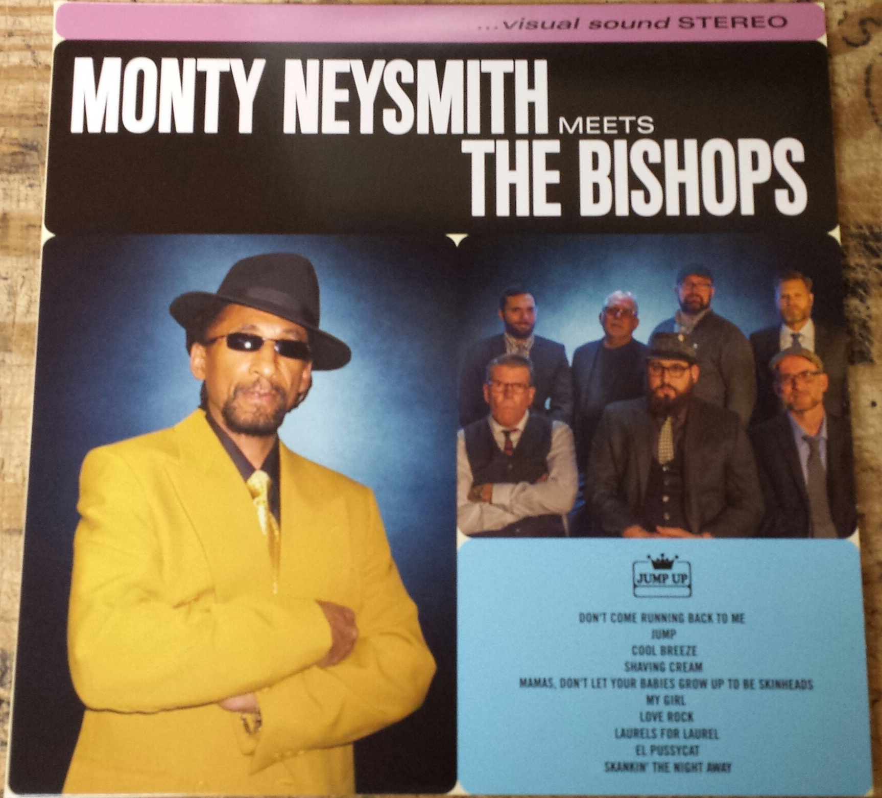 Monty Neysmith(Symarip)/MEETS BISHOPS LP