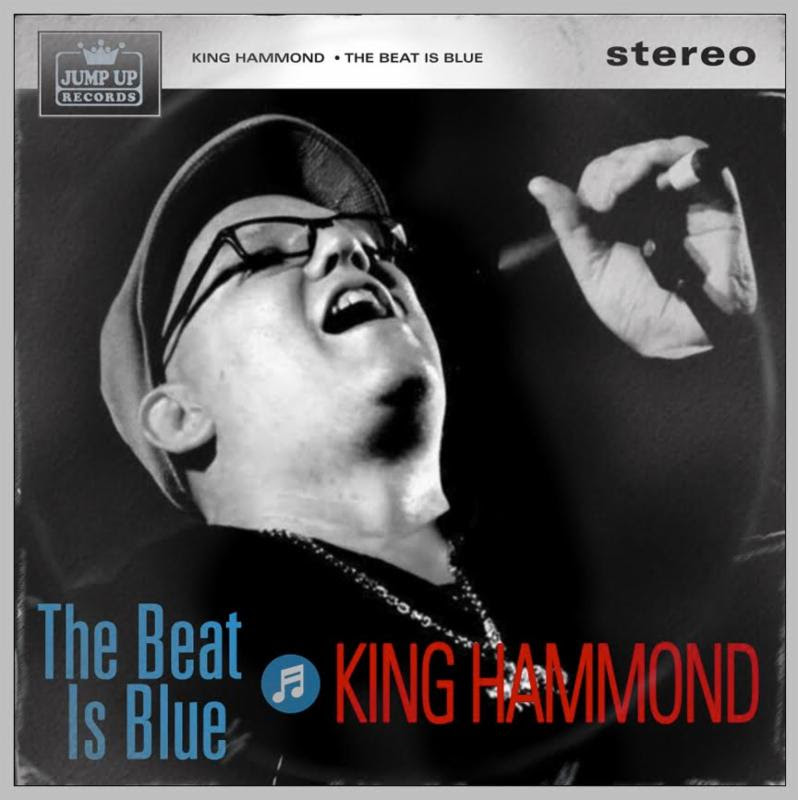 King Hammond/THE BEAT IS BLUE LP