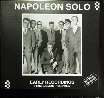 Napoleon Solo/EARLY RECORDINGS 84-85 LP