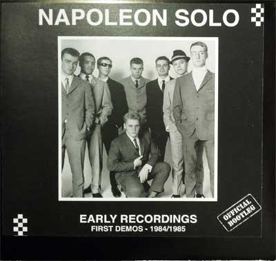 Napoleon Solo/EARLY RECORDINGS 84-85 LP