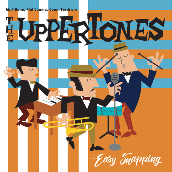 Uppertones, The/EASY SNAPPING (COLOR) LP