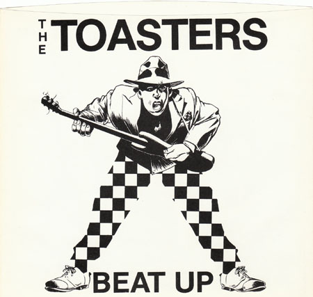 Toasters/BEAT UP 1984 (MARBLE) 7""