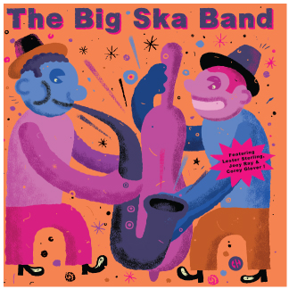 Big Ska Band/CARRY & JAMAICA FAREWELL 7""