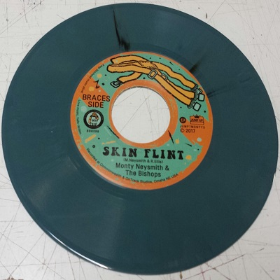 "Monty Neysmith(Symarip)/SKIN FLINT 7"""