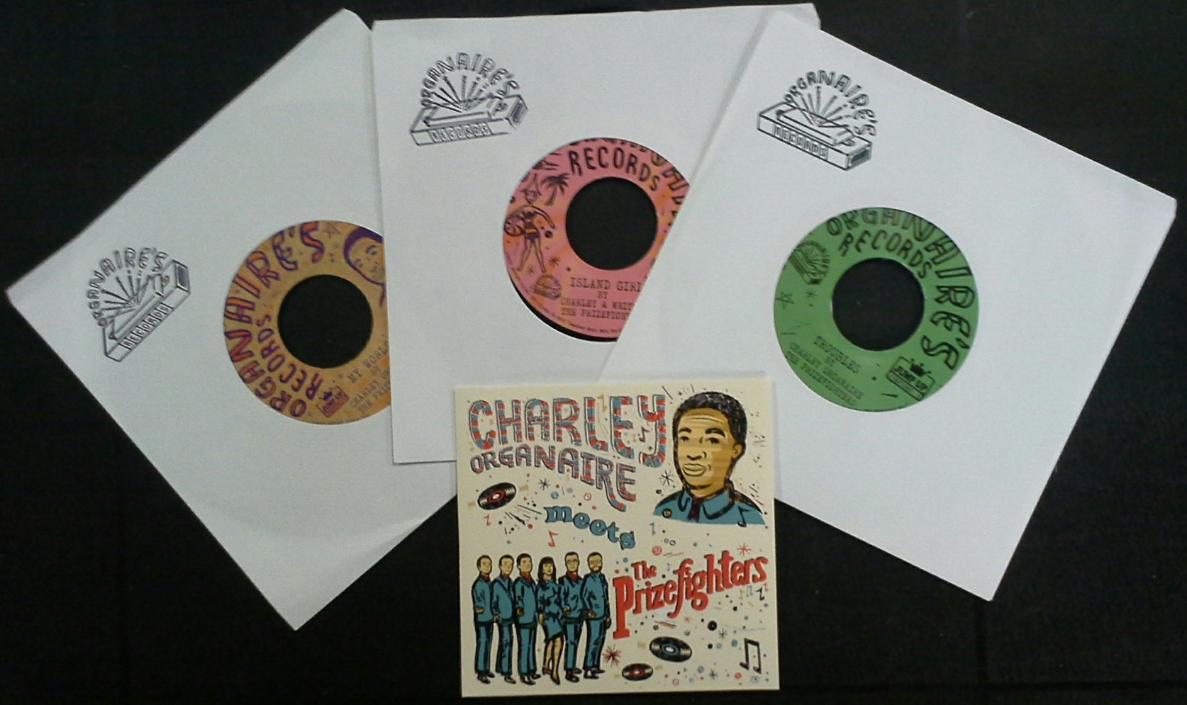 "Charley Organaire/EXTRAORDINAIRE 3x7""+CD"