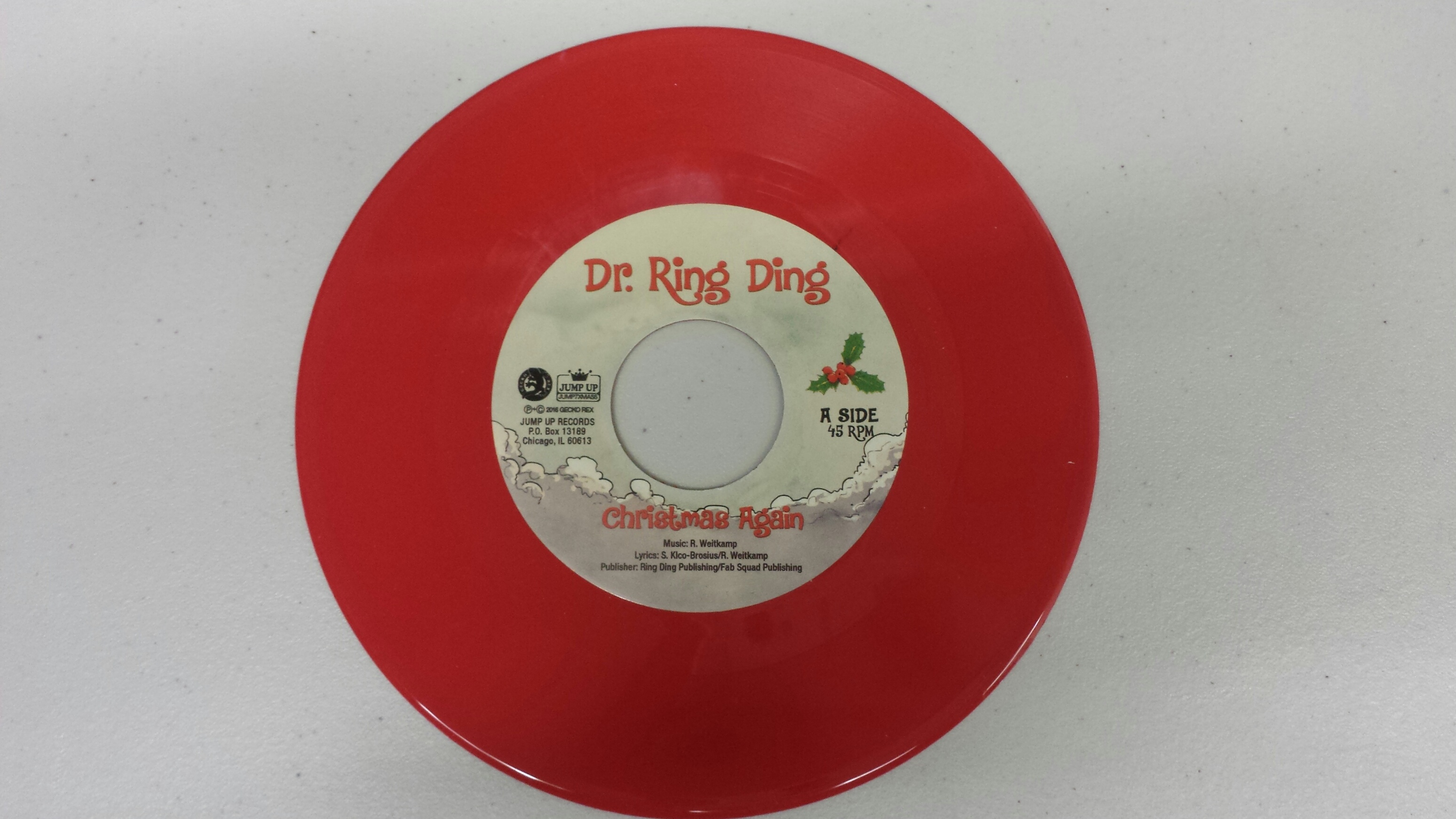 Dr. Ring Ding/CHRISTMAS SONG 7""