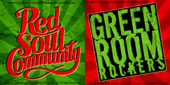 "Green Room Rockers vs Red Soul/SPLIT 7"""