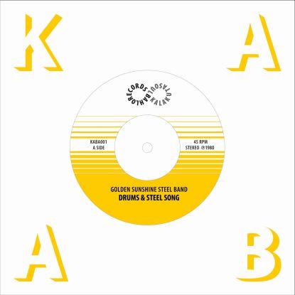 """Golden Sunshine Steel Band/DRUMS... 7"""""""