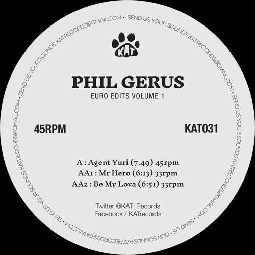 "Phil Gerus/EURO EDITS VOL 1 12"""