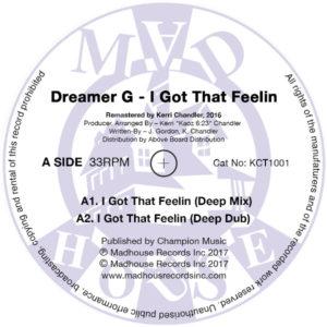 """Dreamer G/I GOT THAT FEELIN 12"""""""