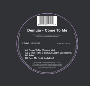 Demuja/COME TO ME (FOLAMOUR REMIX) 12""