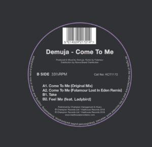"Demuja/COME TO ME (FOLAMOUR REMIX) 12"""