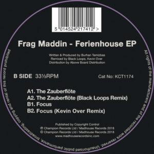 "Frag Maddin/FERIENHOUSE EP 12"""