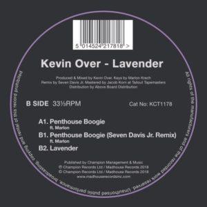 """Kevin Over/LAVENDER 12"""""""