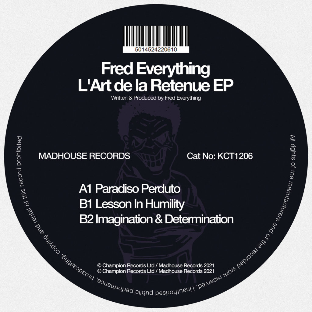 Fred Everything/L'ART DE LA RETENUE 12""