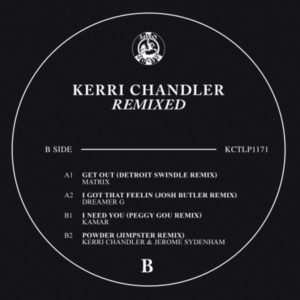 "Kerri Chandler/REMIXED 12"""