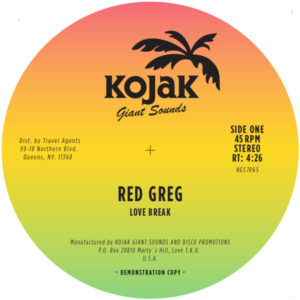 Red Greg/LOVE BREAK 7""
