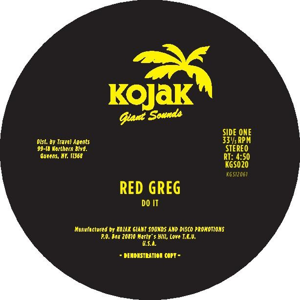 Red Greg/DO IT 12""