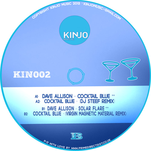 Dave Allison/COCKTAIL BLUE-DJ STEEF 12""