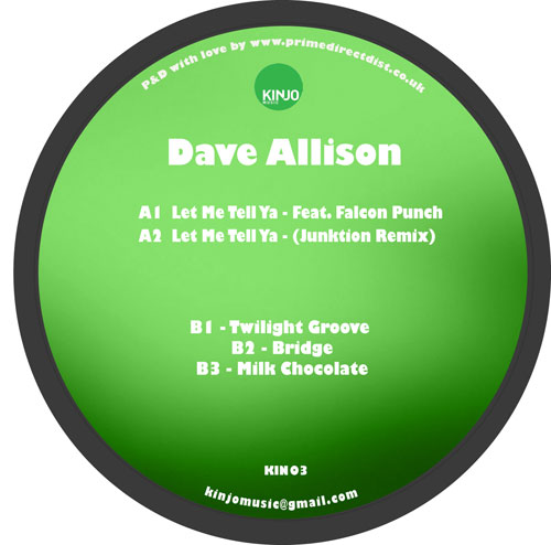 Dave Allison/LET ME.. (JUNKTION RMX) 12""
