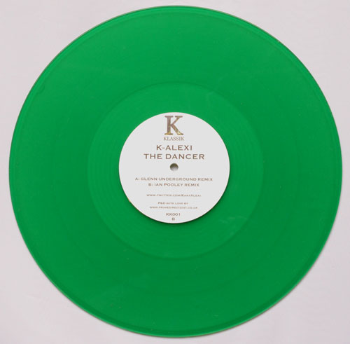 K-Alexi/THE DANCER (ORIGINAL MIX) 12""