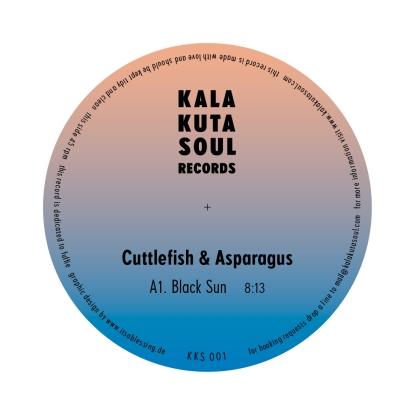 "Cuttlefish & Asparagus/BLACK SUN 12"""