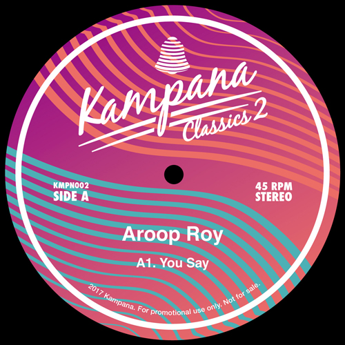Aroop Roy/YOU SAY 12""