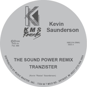 Kevin Saunderson/THE SOUND 12""