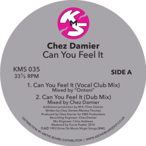 Chez Damier/CAN YOU FEEL IT 12""