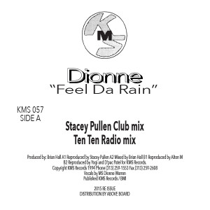 Dionne/FEEL DA RAIN & REMIXES 12""