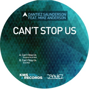 "Danitez Saunderson/CAN'T STOP US 12"""