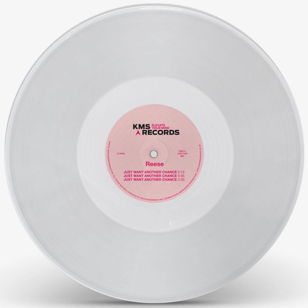 Reese/JUST WANT ANOTHER... CLEAR 12""