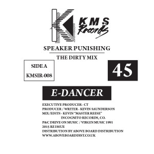 E-Dancer/SPEAKER PUNISHING 12""