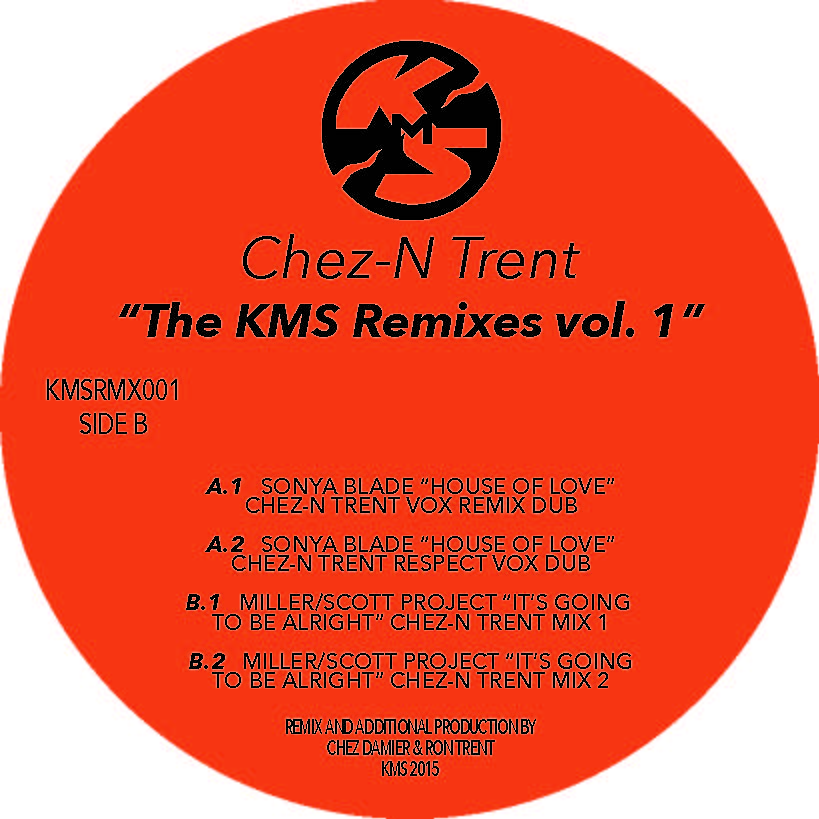 Chez N' Trent/THE KMS REMIXES VOL. 1 12""
