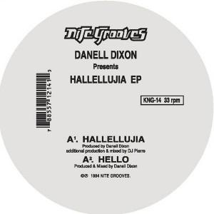 """Danell Dixon/HALLELLUJIA EP 12"""""""