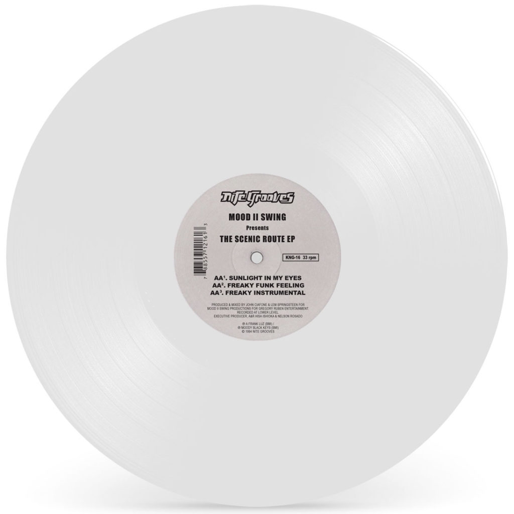 Mood II Swing/SCENIC ROUTE (WHITE) 12""